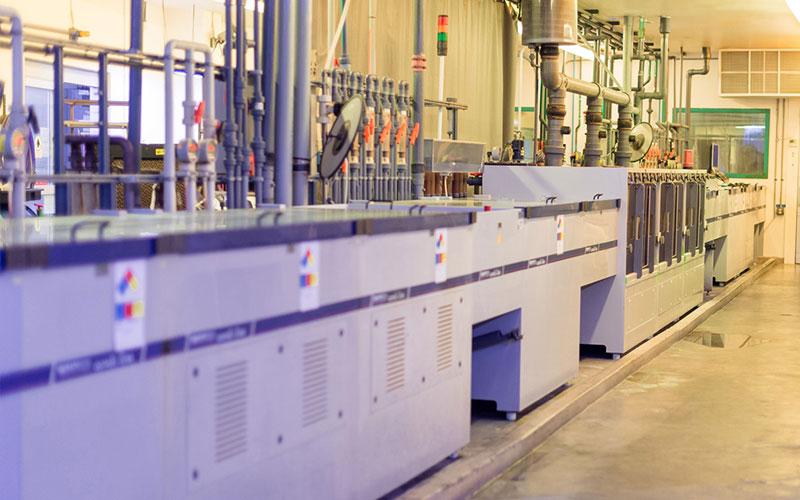 Calumet Electronics Schmid Etch Strip machine