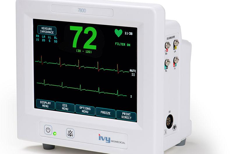 Calumet Electronics circuit boards power heart monitors