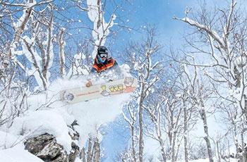 Upper peninsula snowboarding