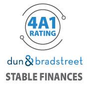 Calumet Electronics has a 4A1 Dun& Bradstreet rating