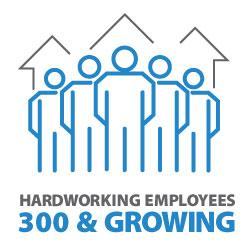 Calumet Electronics has 300 plus hardworking employees