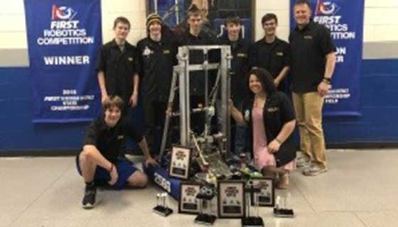Calumet Electronics Supporting High School Robotics Teams