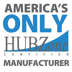 America's only Hubzone certified manufacturer