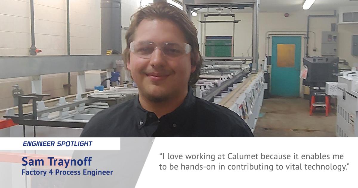 Featured Image of Sam Traynoff - Engineer Spotlight